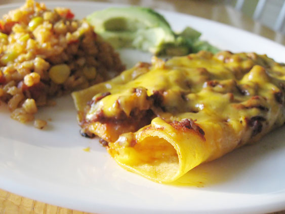 turkey-enchiladas