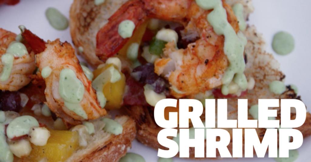 Superbowl Grilled Shrimp Recipe