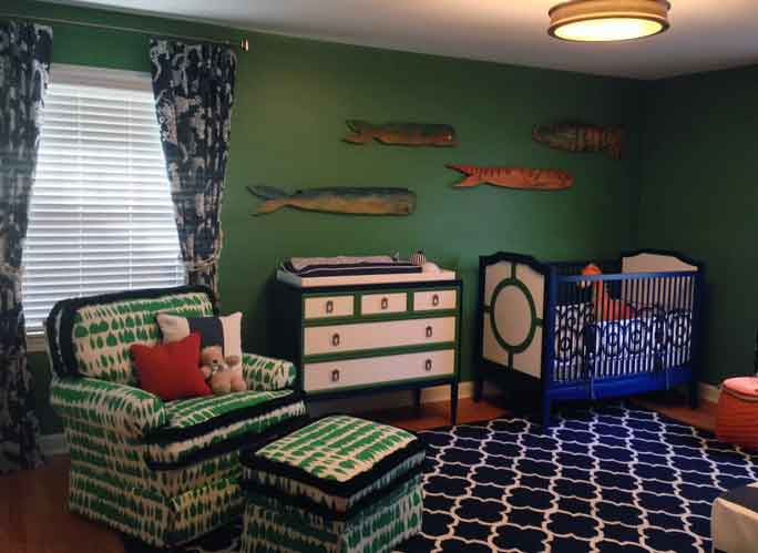 Sneak peak into Meg's baby nursery!