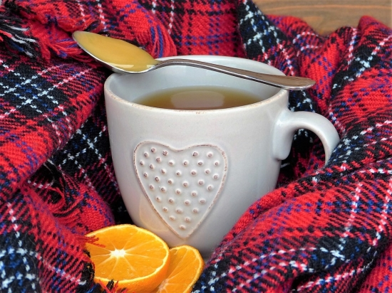 hot tea and vitamin c