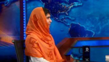 Jon Stewart Malala 2