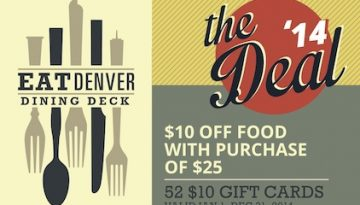 EatDenver Dining Deck