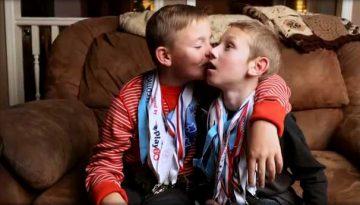 Triathlon-brothers