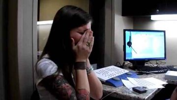 Woman Hears Laugh For The First Time