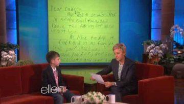 pay it forward on Ellen