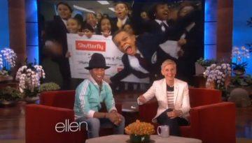 Pherrell Williams on Ellen