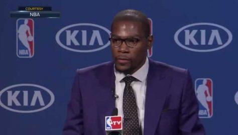 Kevin Durant NBA MVP Speech
