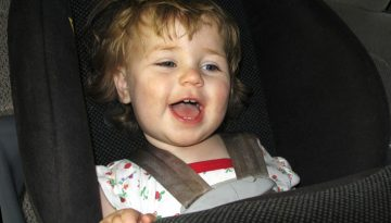 5 Ways to Make Rear Facing Easier on Baby