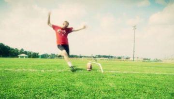 Autistic Football Player