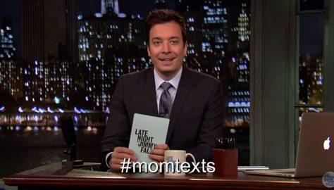 Jimmy Fallon Mom Texts