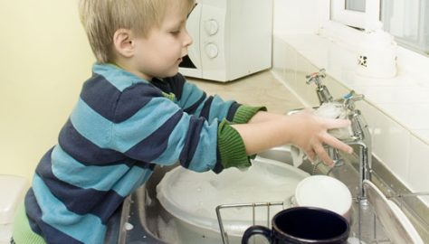 Boy-Washing-Dishes