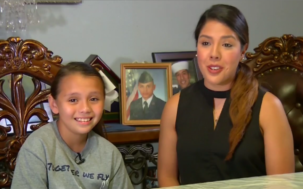 Texas Senior Rescues 9 year old girl