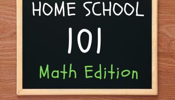 Home Schoole 101 Math